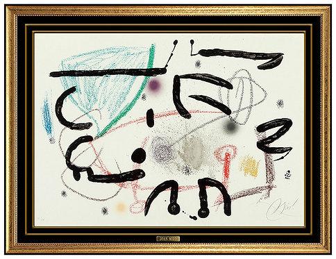 """""""Maravilles con Variaciones Acosticar en El Jardin de Miro"""" by Joan Miro"""