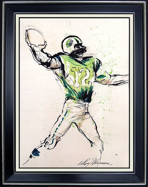 """Joe Namath"" by Leroy Neiman"