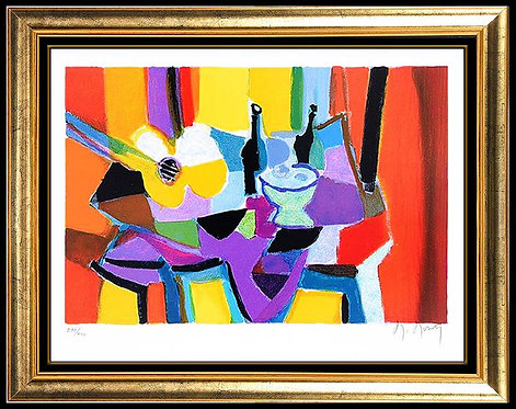 """Guitare Juane et Blanche"" by Marcel Mouly"