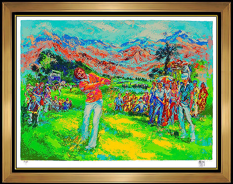 """""""Doc Severinsen on the Links"""" by Mark King"""