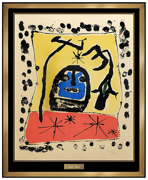"""Exposition Gallery Matarasso"" by Joan Miro"