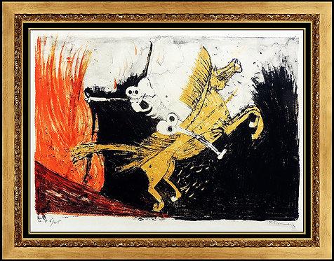 """Capitulo XVI"" by Rufino Tamayo"