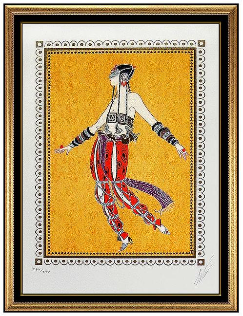 """""""Arabian Dancer"""" by Erte"""