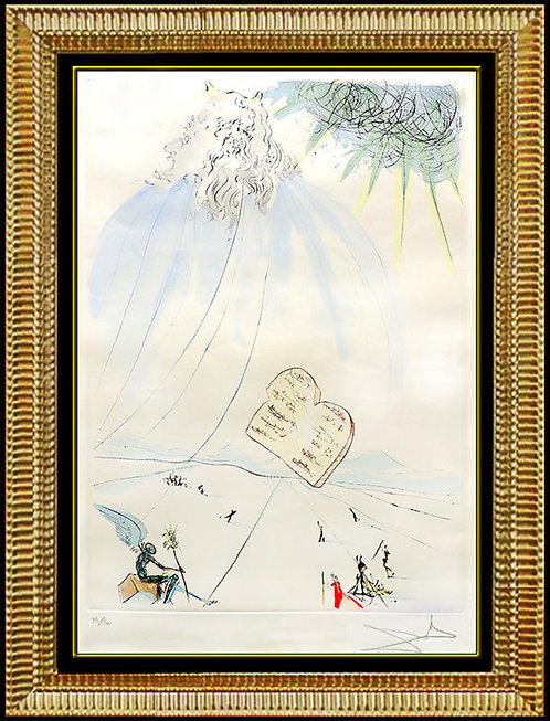 """Moses"" by Salvador Dali"