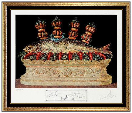 """Les Panaches Panaches"" by Salvador Dali"