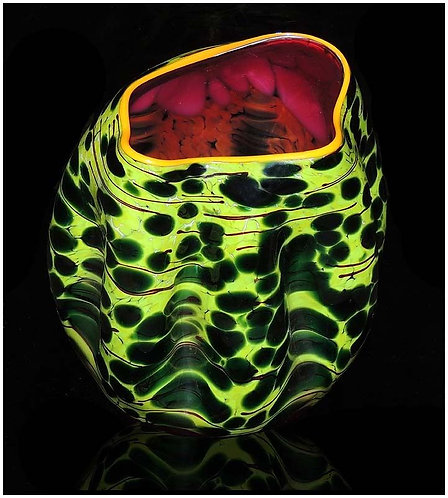 """Sunset Macchia"" by Dale Chihuly"