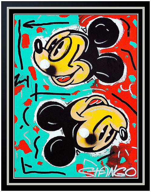 """Original Mickey In Red and Blue"" by John Stango"