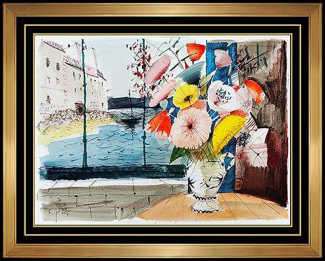 """""""Fleurs et la Mer"""" by Charles Levier"""