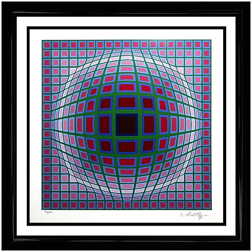 """""""Titan A"""" by Victor Vasarely"""