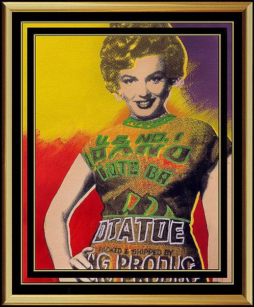 """""""Original Marilyn Monroe"""" by Steve Kaufman"""
