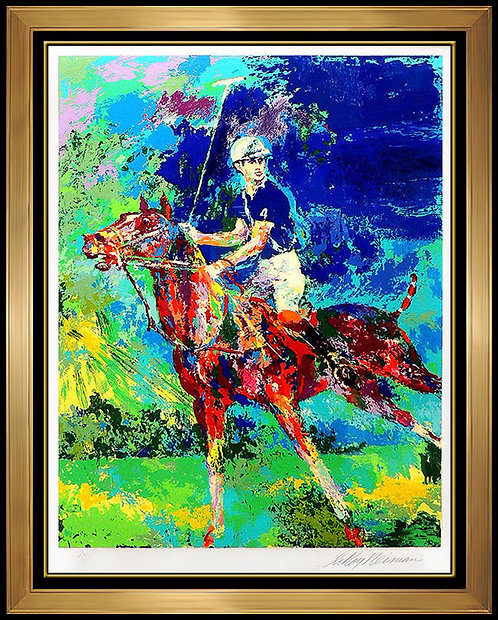 """Prince Charles at Windsor"" by Leroy Neiman"