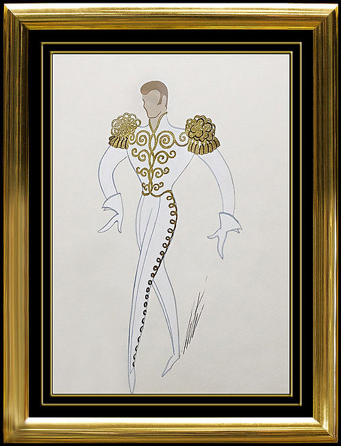 """""""Prince of the Ball"""" by Erte"""