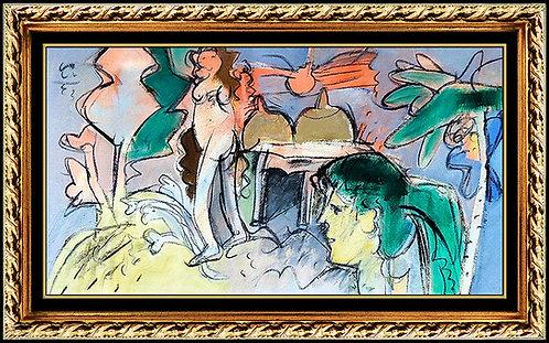 """""""La Fiesta De La Nina Rebelde"""" by Roger Von Gunten"""