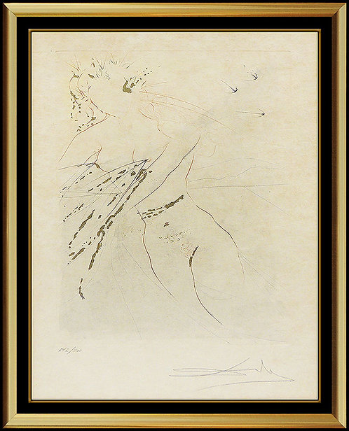"""""""Thou Art All Faire, My Love"""" by Salvador Dali"""
