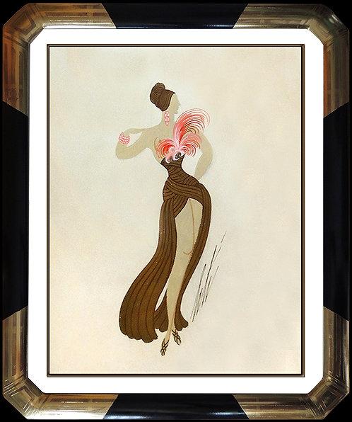 """""""Flamingo Mannequin Original"""" by Erte"""