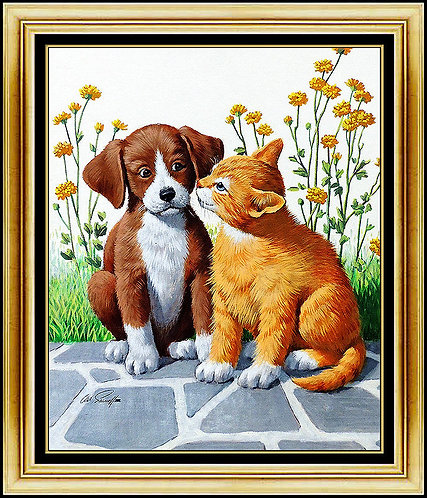 """""""Cats and Dogs"""" by Arthur Sarnoff"""