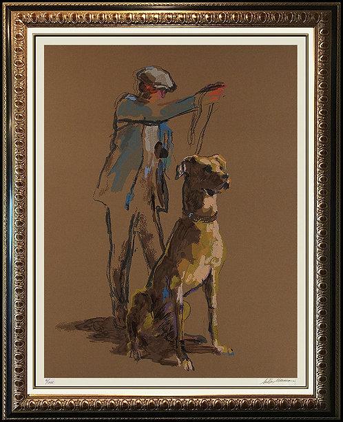 """""""Great Dane"""" by Leroy Neiman"""