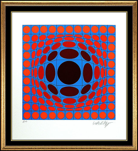 """Composition Cinetique"" by Victor Vasarely"