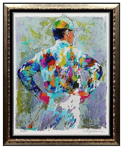 """""""Jockey"""" by Leroy Neiman"""