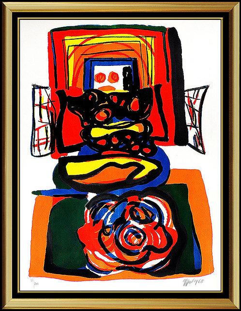 """Le Grande Tete Rouge"" by Karel Appel"