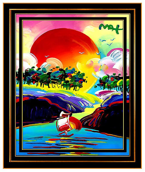 """Original Without Borders"" by Peter Max"