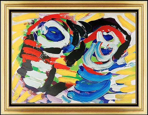 """Happy Couple"" by Karel Appel"
