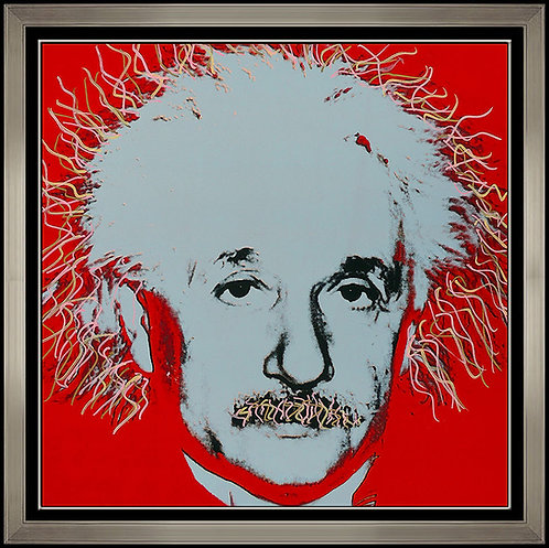"""""""Einstein - State I"""" by Steve Kaufman"""