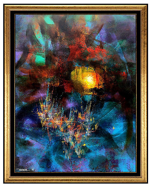 """The City"" by Leonardo Nierman"