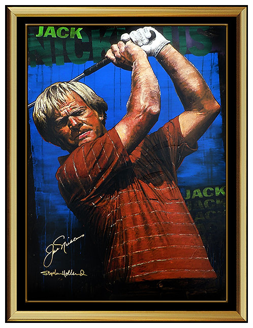 """Jack Nicklaus"" by Stephen Holland"