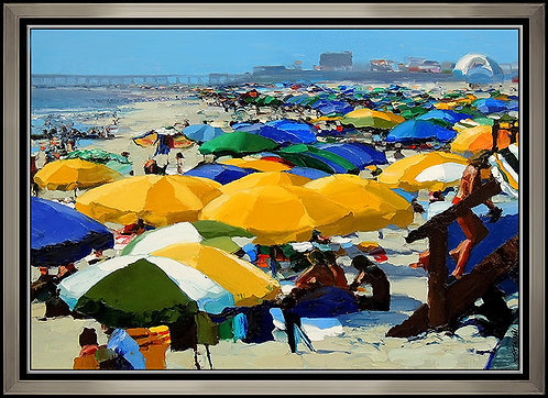 """Original Beach Fun"" by Howard Behrens"