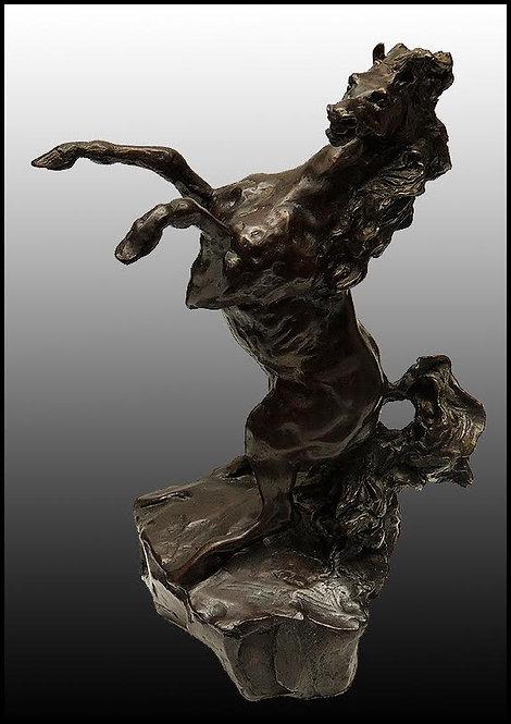 """""""Defiant"""" by Leroy Neiman"""