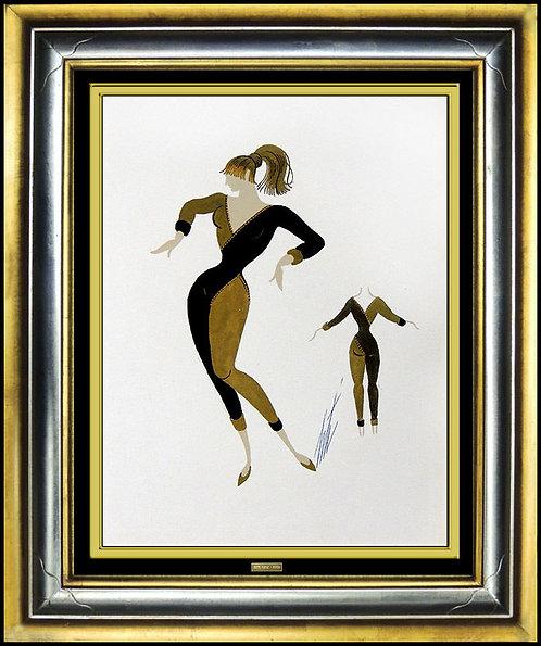 """""""Moulin Rouge ll"""" by Erte"""