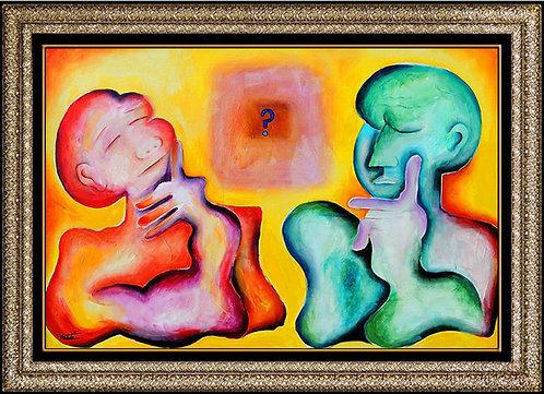 """Original Symphony of Emotions"" by Alexandra Nechita"