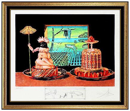 """Les Je Mange Gala"" by Salvador Dali"