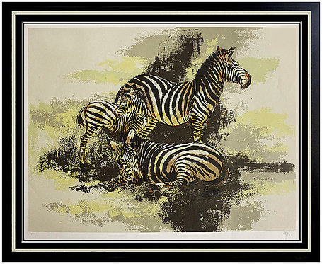 """Zebras"" by Mark King"