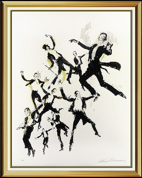 """""""Fred Astaire"""" by Leroy Neiman"""