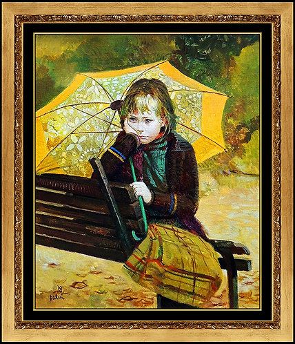 """Original Rainy Day"" by Pino Daeni"