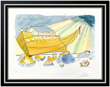 """Noah's Ark"" by Salvador Dali"
