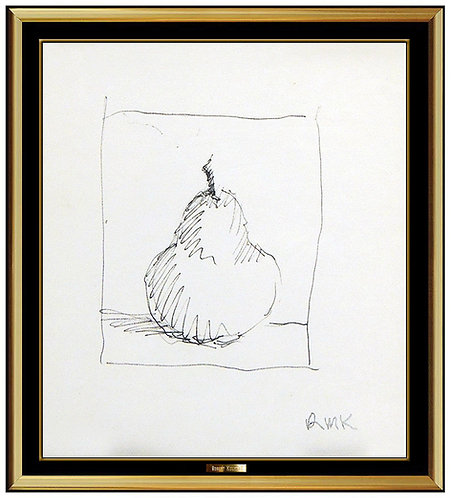 """Original Portrait of a Pear"" by Robert Kulicke"