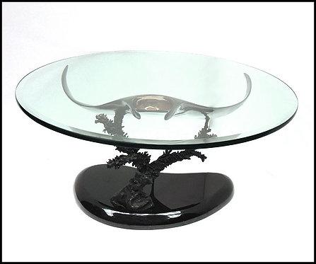"""Manta Ray Coffee Table"" by Scott Hanson"