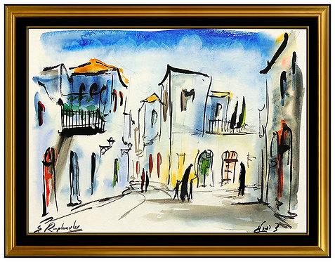 """""""Original Mea Sharim - Jerusalem"""" by Zvi Raphaeli"""