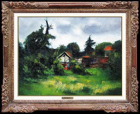 """""""Maisons dans les Arbres"""" by Gaston Sebire"""