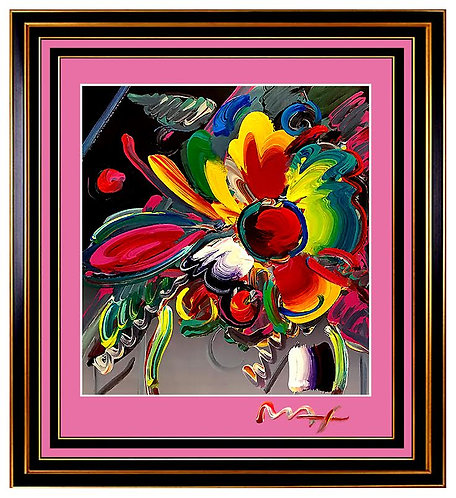 """Pop Art Flowers"" by Peter Max"