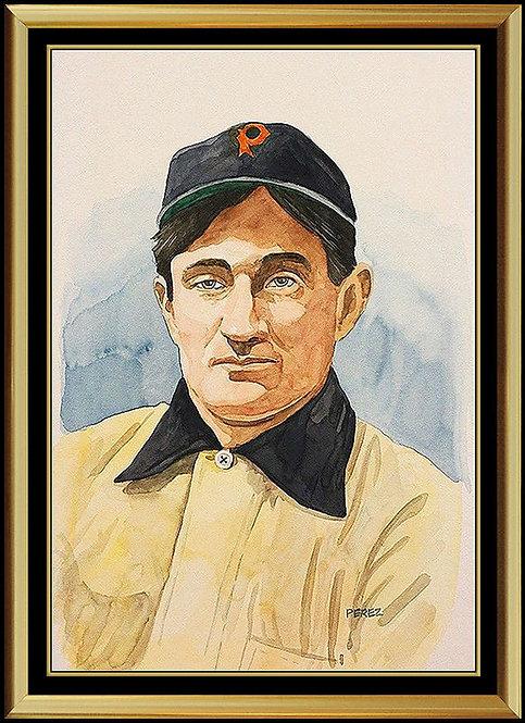 """""""Hall-Of-Famer Honus Wegner"""" by Dick Perez"""