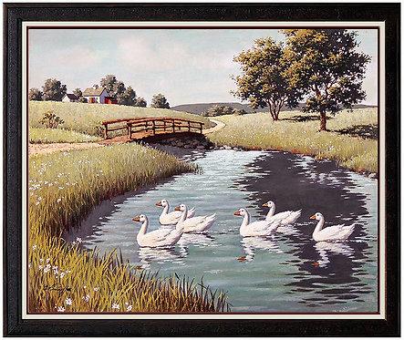"""Crossing the Pond"" by Arthur Sarnoff"
