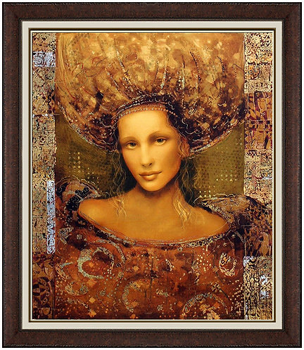 """Ladonna Hand Embellished"" by Csaba Markus"