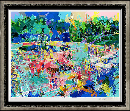 """""""Central Park"""" by Leroy Neiman"""