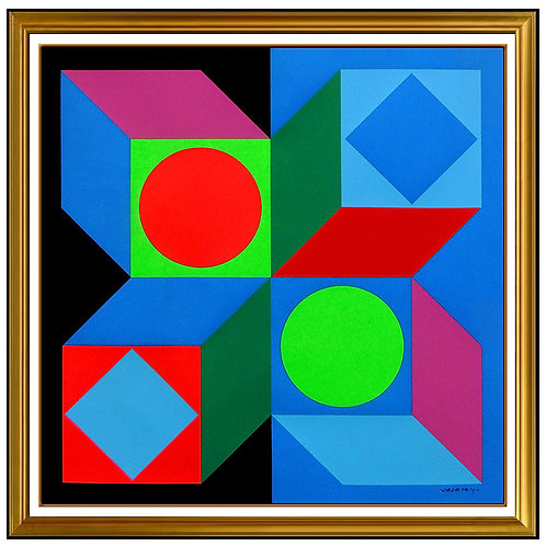 """Laidre Cargegue"" by Victor Vasarely"