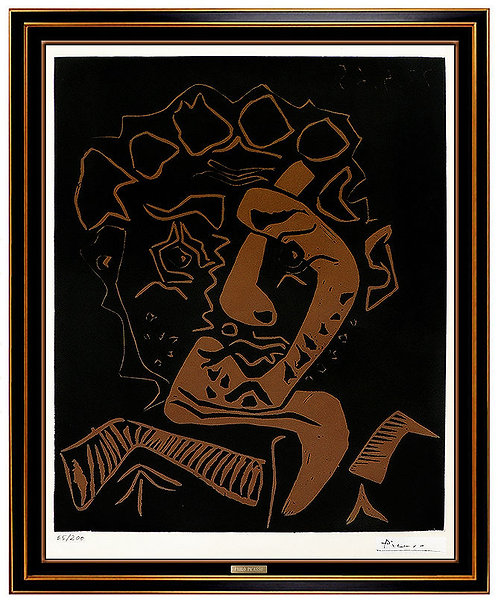 """""""Le Danseur (Tete de Historian)"""" by Pablo Picasso"""