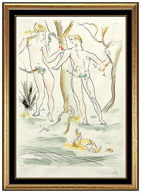 """""""""""Adam Et Eve"""" by Salvador Dali"""